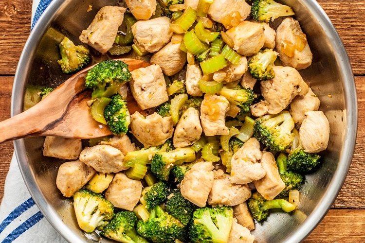 Tervislik kana retsept kaalulangus Kuidas poletada rasva oma kate umber