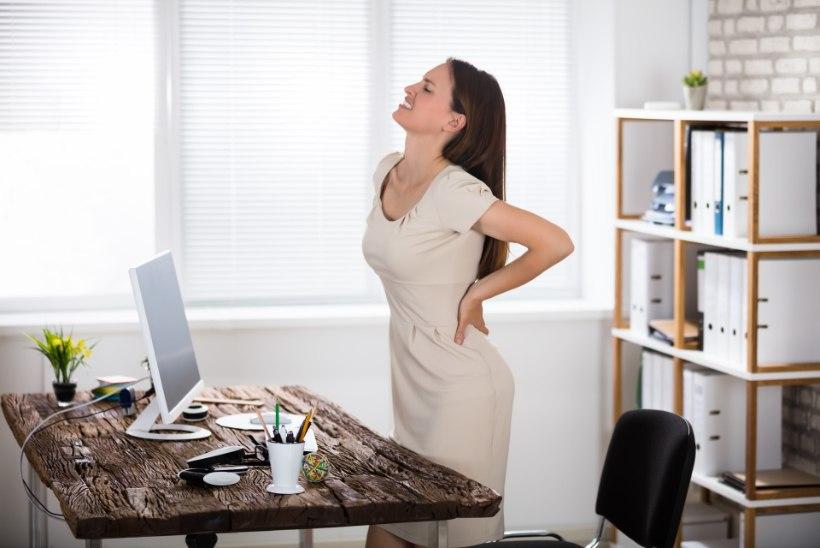Kaalulangus seljavalu ja vasimus