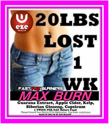 Max Burn Fat Burners