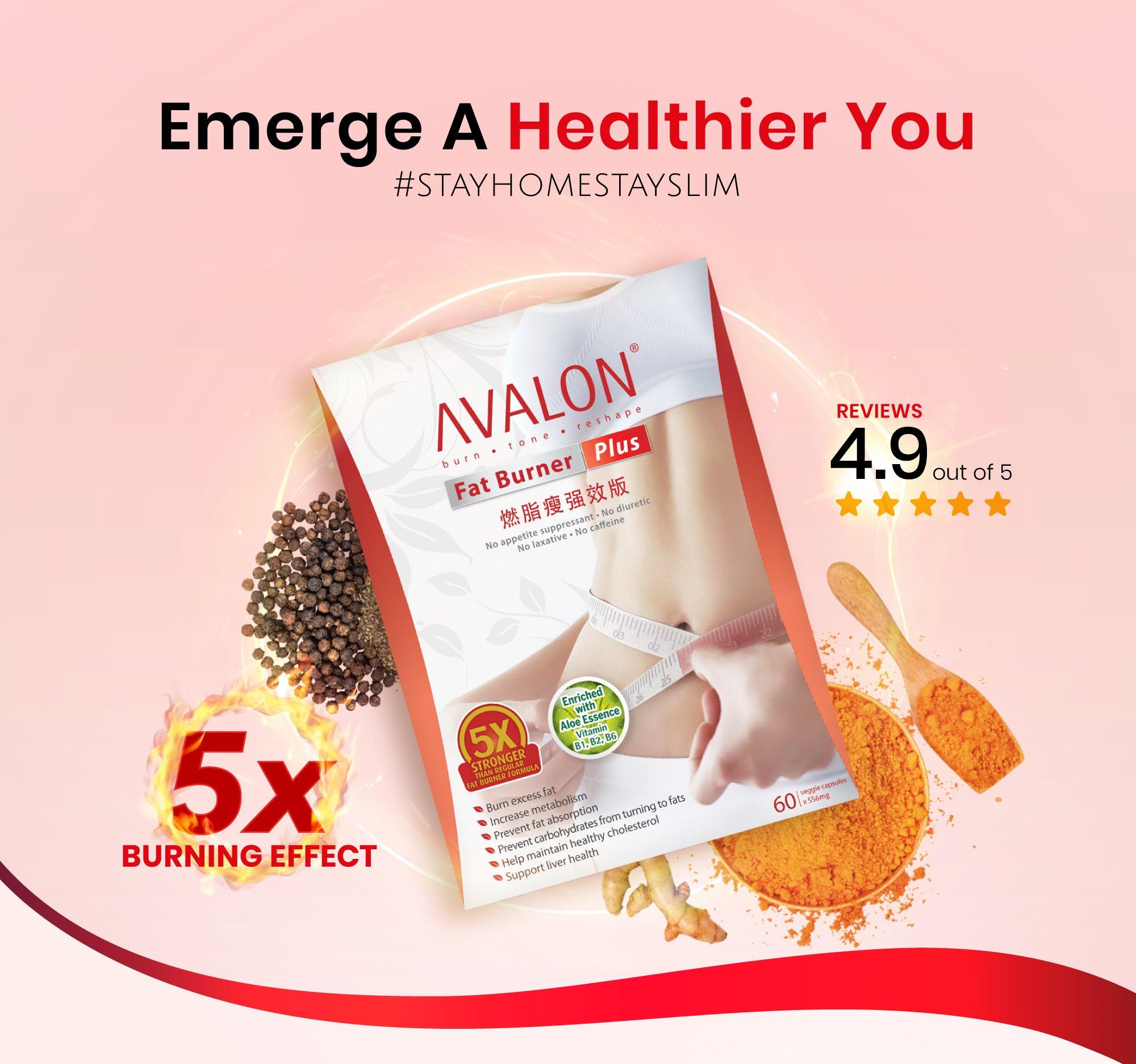 Avalon Fat Burner Plus Absoluutne salendav paketi hind